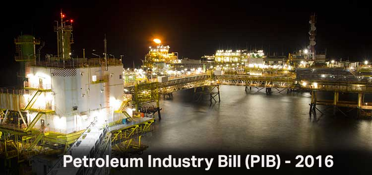 The Petroleum Industry Bill.2016 and Beyond